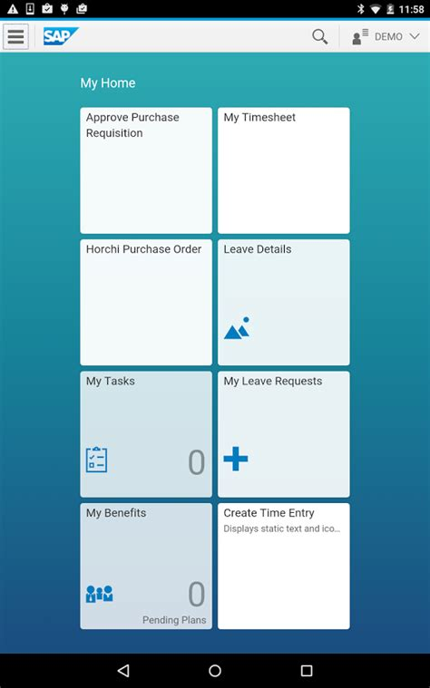 Sap Connected Healthcare Sap Fiori Client Android Apps On Play