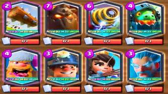 Clash royale deck full legendaires de niveau max clash royale