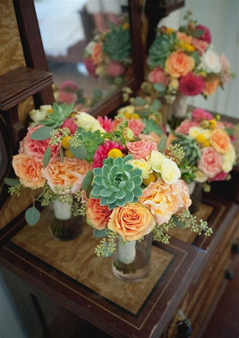 colorful modern mexican colorful modern mexican bouquets wedding party ideas