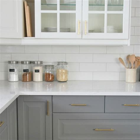 white subway tile kitchen best 25 subway tile backsplash ideas on