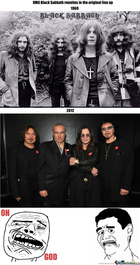 Black Sabbath Memes - black sabbath 2012 by redd meme center