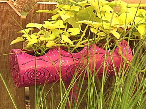 Pvc Planter Diy Pvc Pipe Planter