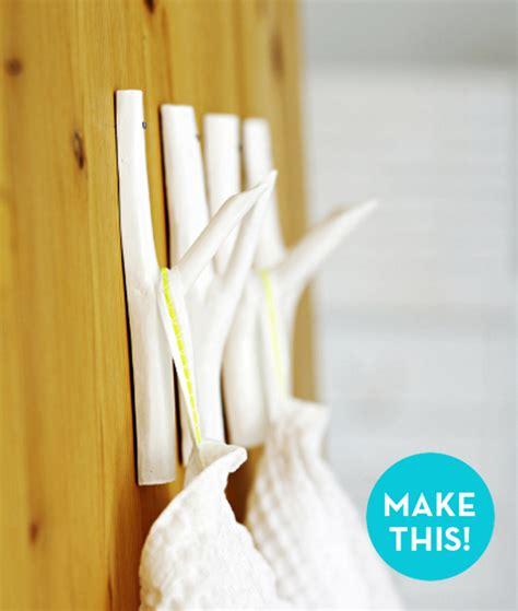 Wall Hooks Diy How To Make Easy Diy Tree Branch Wall Hooks 187 Curbly