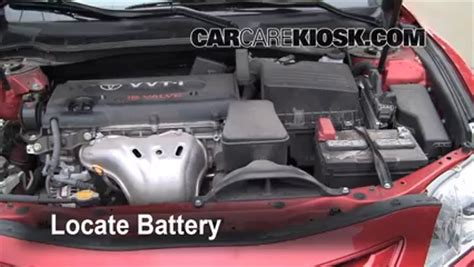 Battery For Toyota Camry Battery Replacement 2007 2011 Toyota Camry 2008 Toyota