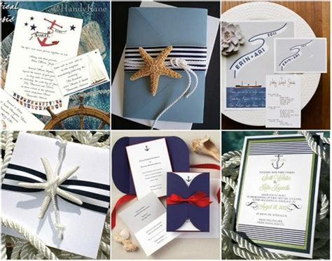 Wedding Invitations Nautical Theme by How To Plan A Nautical Theme Wedding