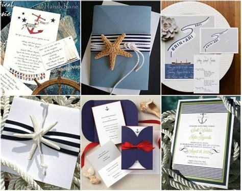 Wedding Invitations Nautical Theme by How To Plan A Nautical Theme Wedding