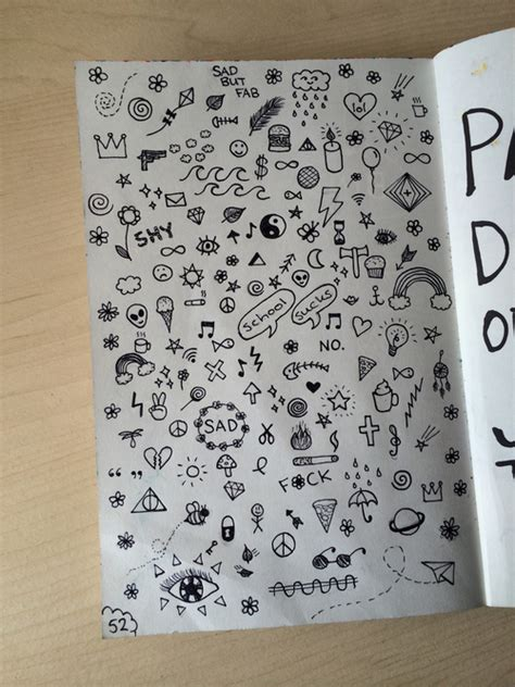 doodle notebook ideas wreck this journal uploaded by lisanne on we it