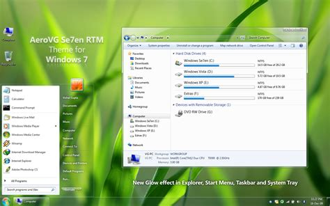 technology themes for windows 7 free download download aerovg se7en theme for windows 7 digit