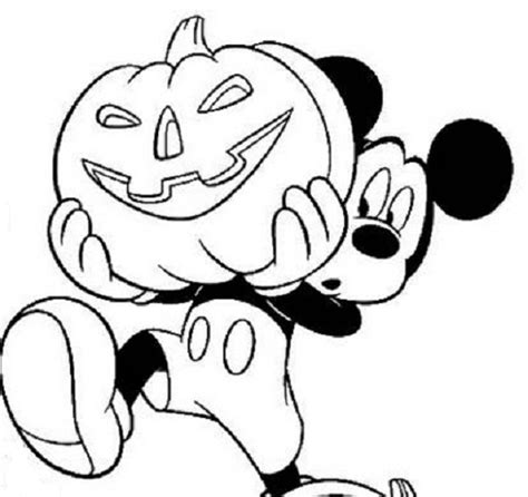 mickey and minnie halloween coloring pages coloring pages