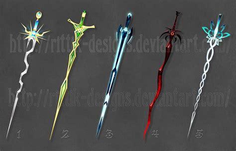 Teeth Stick Mini Green Bone swords by rittik designs i really like the ones on the