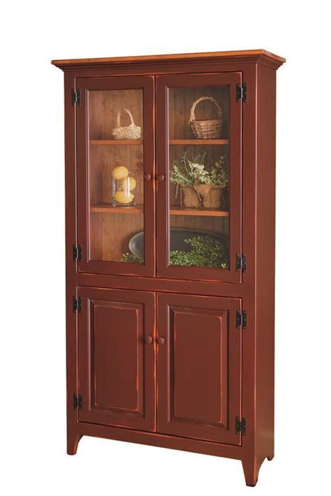 solid wood pantry cabinet  dutchcrafters amish furniture