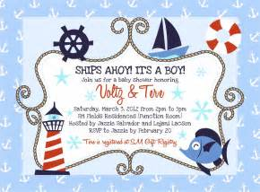 nautical baby shower invitations templates nautical baby shower invitations baby shower decoration