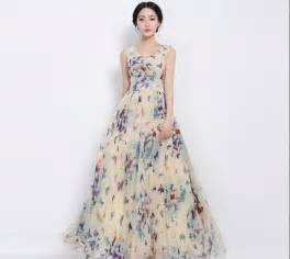 Dresses women s fashion butterflies style maxis chiffon dresses
