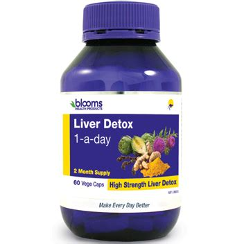 One Day Liver Detox by Buy Blooms Liver Detox 1 A Day For Liver Protection