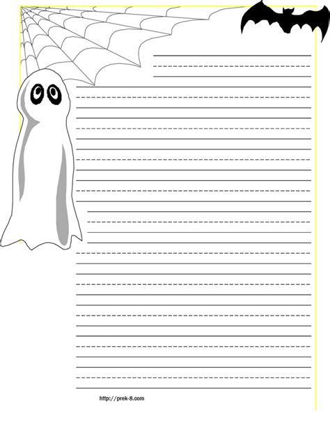 printable pumpkin stationery halloween printable writing papers festival collections