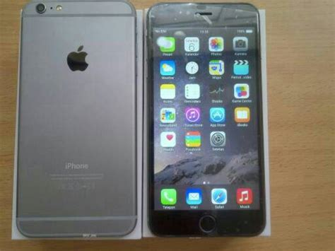 Layar Hp Iphone 5 jual iphone 6 plus layar 5 5 inch gindoshop