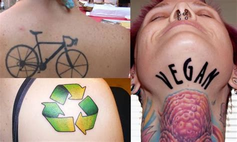 environmental tattoos amazing and creative environmental friendly green tattoos