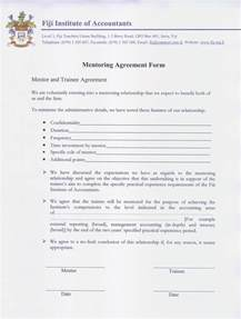 Mentoring Agreement Template image gallery mentor agreement