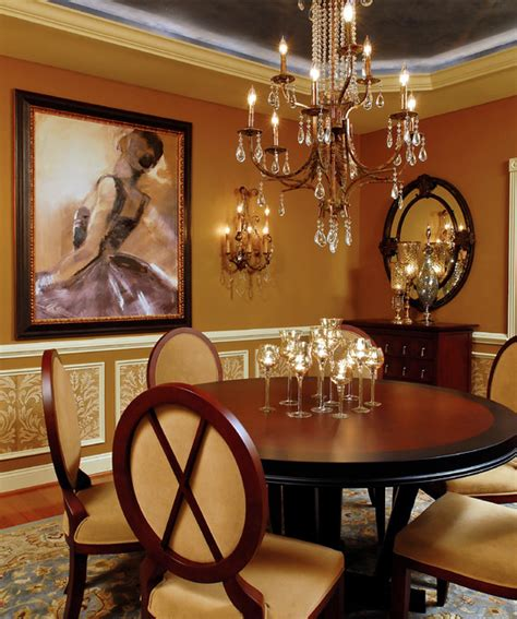 Rich Dining Room by A Look At Some Dining Rooms From Houzz Homes Of The