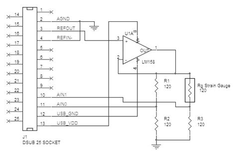 wheatstone bridge voltage output strain gage data acquisition