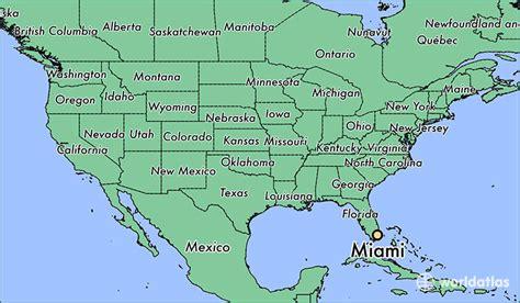 where is miami fl where is miami fl located in the