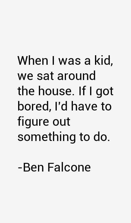 quotes by ben falcone like success