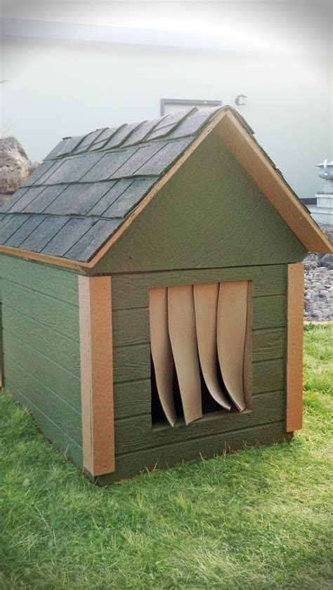 warm outdoor dog house cozy insulated dog house to keep your best friend warm in the winter months our