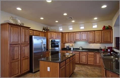 hickory cabinets with granite countertops marble countertops with hickory cabinets maple whiskey