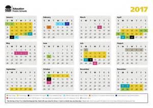 Calendar 2018 Printable Nsw 2017 Nsw Schools Calendar Burraneer Bay School
