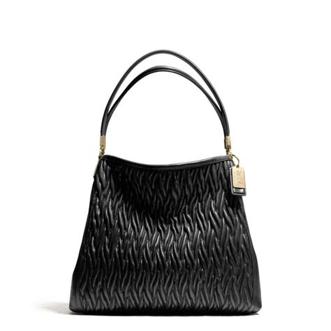 Dautore Gathered Shoulder Bag by Lyst Coach Small Phoebe Shoulder Bag In Gathered