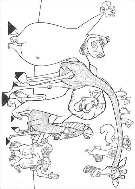 Madagascar 2 Coloring Pages by Madagascar 2 Coloring Pages Az Coloring Pages