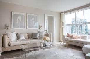 grey living room beige modern house