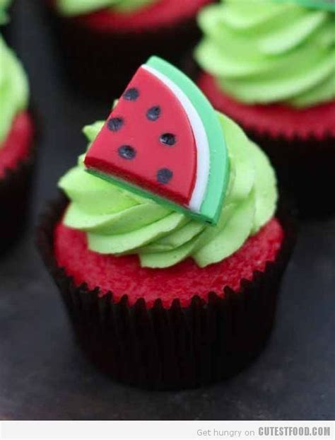 Watermelon Cake Decorating Ideas by 1000 Ideas About Watermelon Cupcakes On