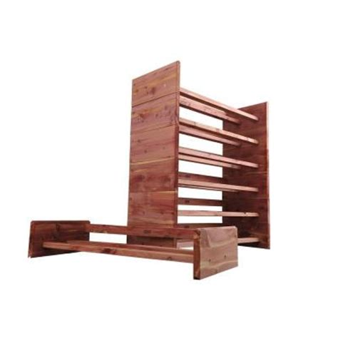 two tier aromatic cedar shoe rack a122 the home depot