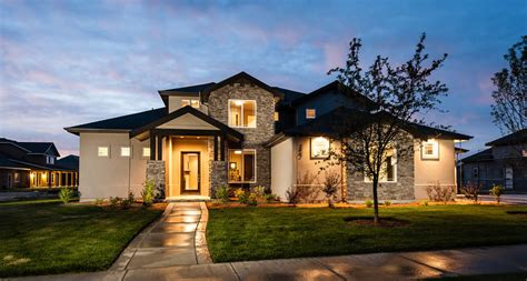 custom made house eagle idaho luxury custom home builder