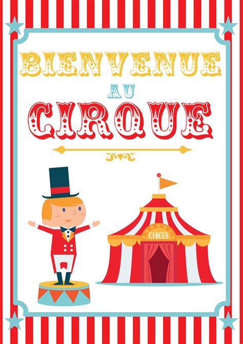 Decor Cirque A Imprimer by Poster Cirque 224 Imprimer Momes Net
