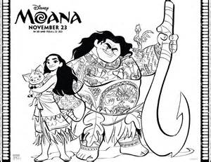 coloring pages moana moana coloring pages free printables from disney
