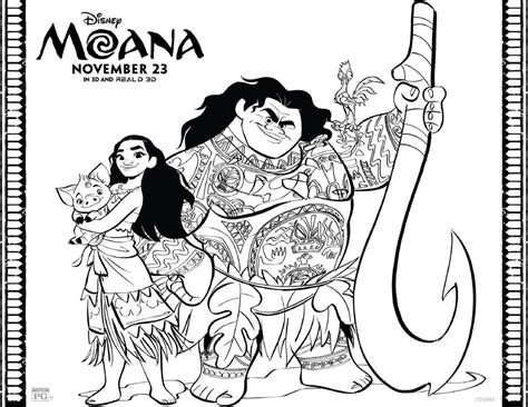 printable coloring pages moana moana coloring pages free printables from disney