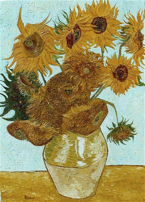 vaso con girasoli gogh vincent gogh paintings reproduction false copyright