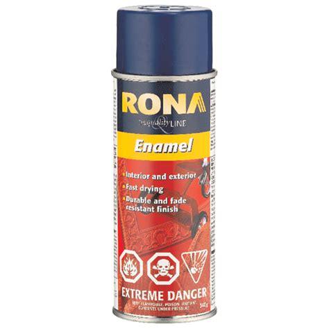 paint enamel spray paint rona