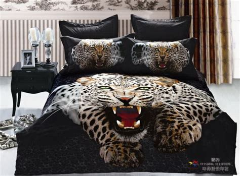 Cheetah Print Bed Sets Colorful Mart Leopard Style15 Cheetah Print Leopard Print Bedding Set