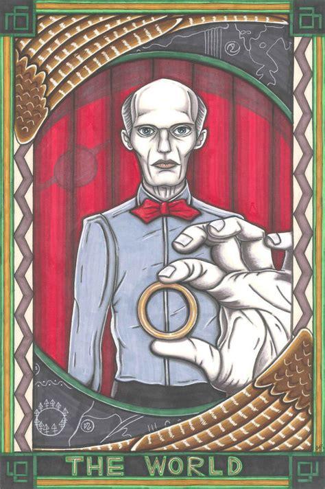 Twin Peaks Gift Card - twin peaks tarot the giant postcard print