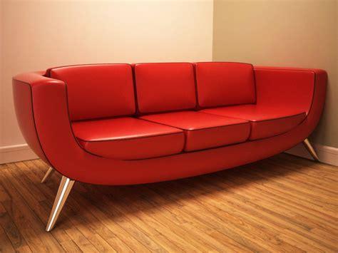 big ben sofa 3d model retro sofa