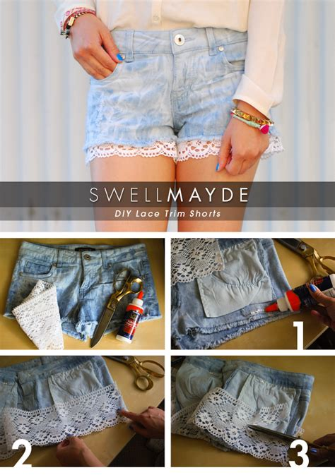 Ways To Look In Shorts by 13 Ways To Give Your Shorts A New Look By Diy Tutorials