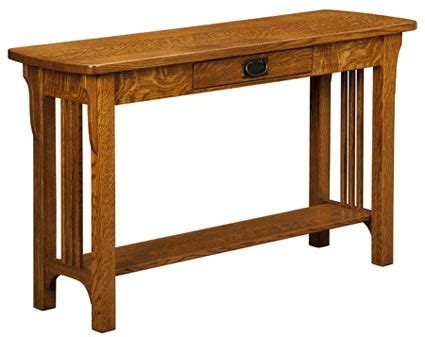 Up To 33 Country Mission - up to 33 craftsman mission sofa table amish outlet