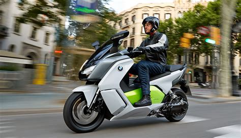 bmw c evolution makes production as electric scooters go