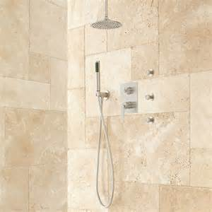 trimble rainfall shower system with sprays shower