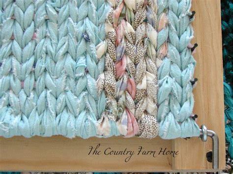 rag rug looms how to make 25 best ideas about rug loom on rug rag rugs and rag rug diy