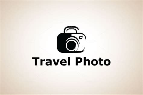 travel photography logo logo templates on creative market