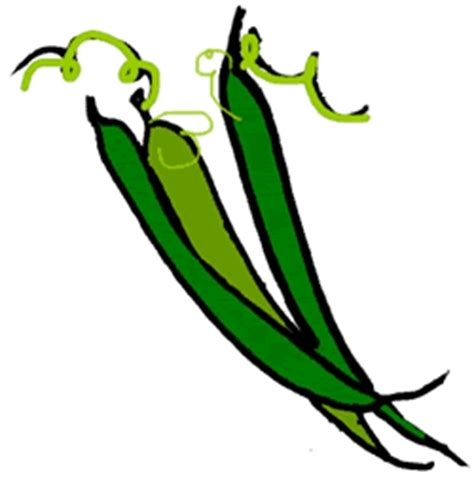 String Beans Clip - green bean clipart best